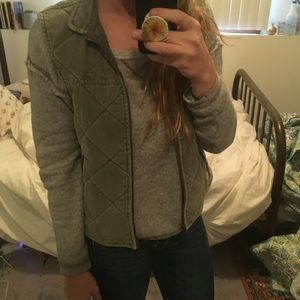Green corduroy vest